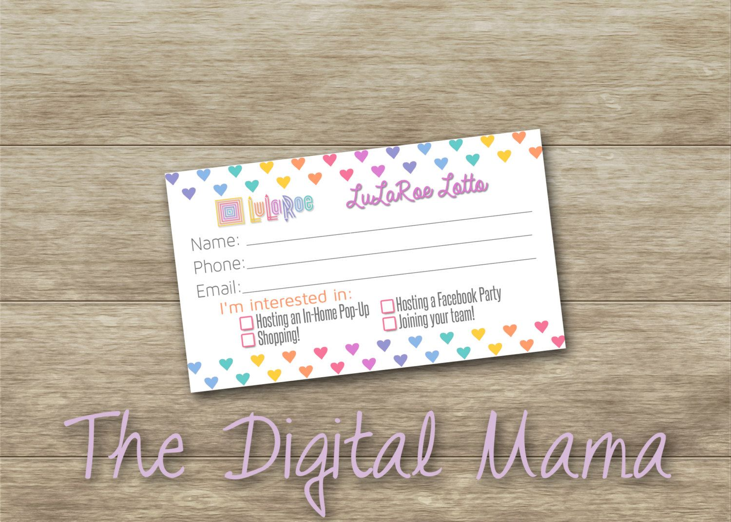 Instant download lularoe customer raffle lottery card lularoe instant download lularoe customer raffle lottery card lularoe enter drawing lularoe business cards magicingreecefo Choice Image