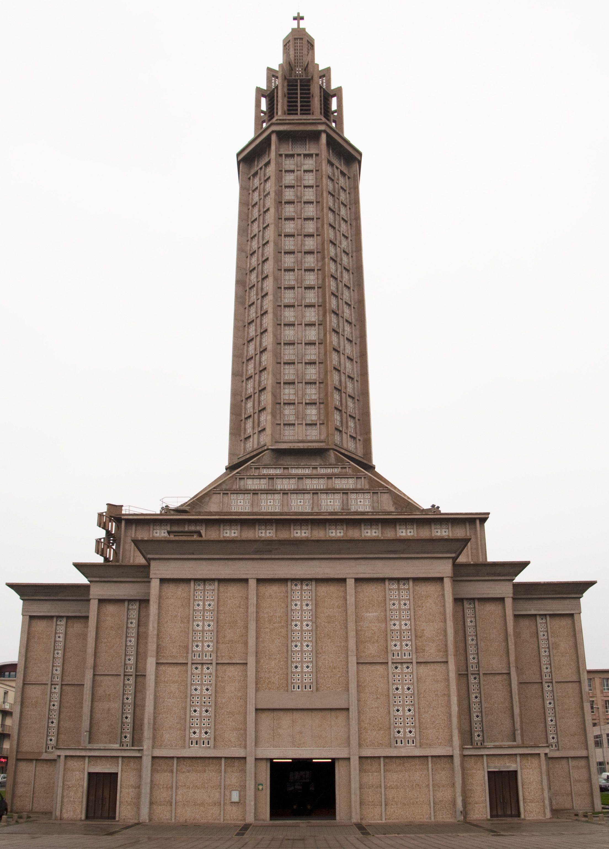 St joseph 39 s church le havre france 1951 1958 for 3d architecture le havre