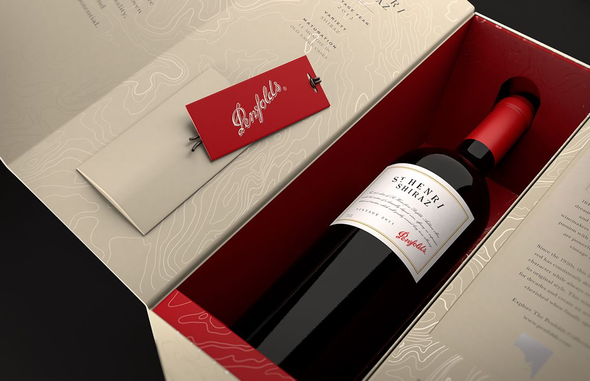 Penfolds Packaging On Behance Wine Packaging Packaging Bottle