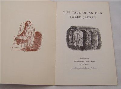 """Tweedland"" The Gentlemen's club: Edward Ardizzone"
