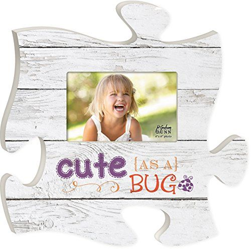 P. Graham Dunn Puzzle Piece Print Frame Panel Art You Cute AS a Bug ...