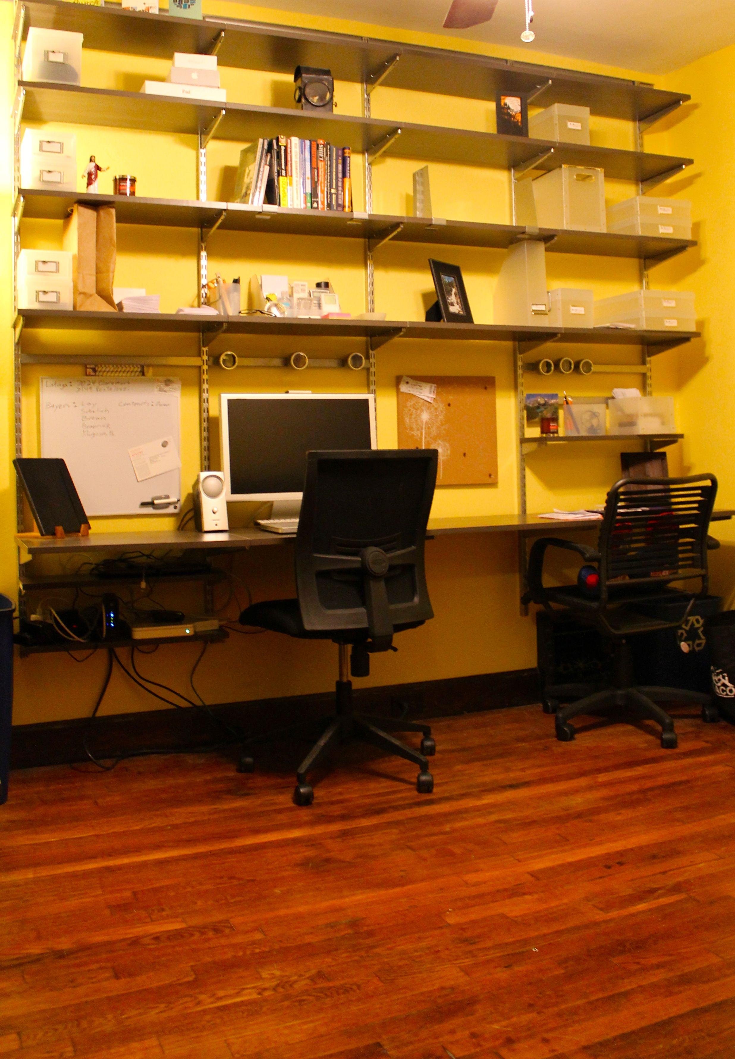 Finally Finished Putting Together My Elfa Shelving System   I Love  Organization!