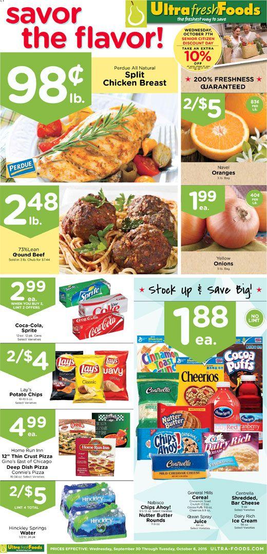 Ultra Foods Weekly Ad September 30 October 6, 2015