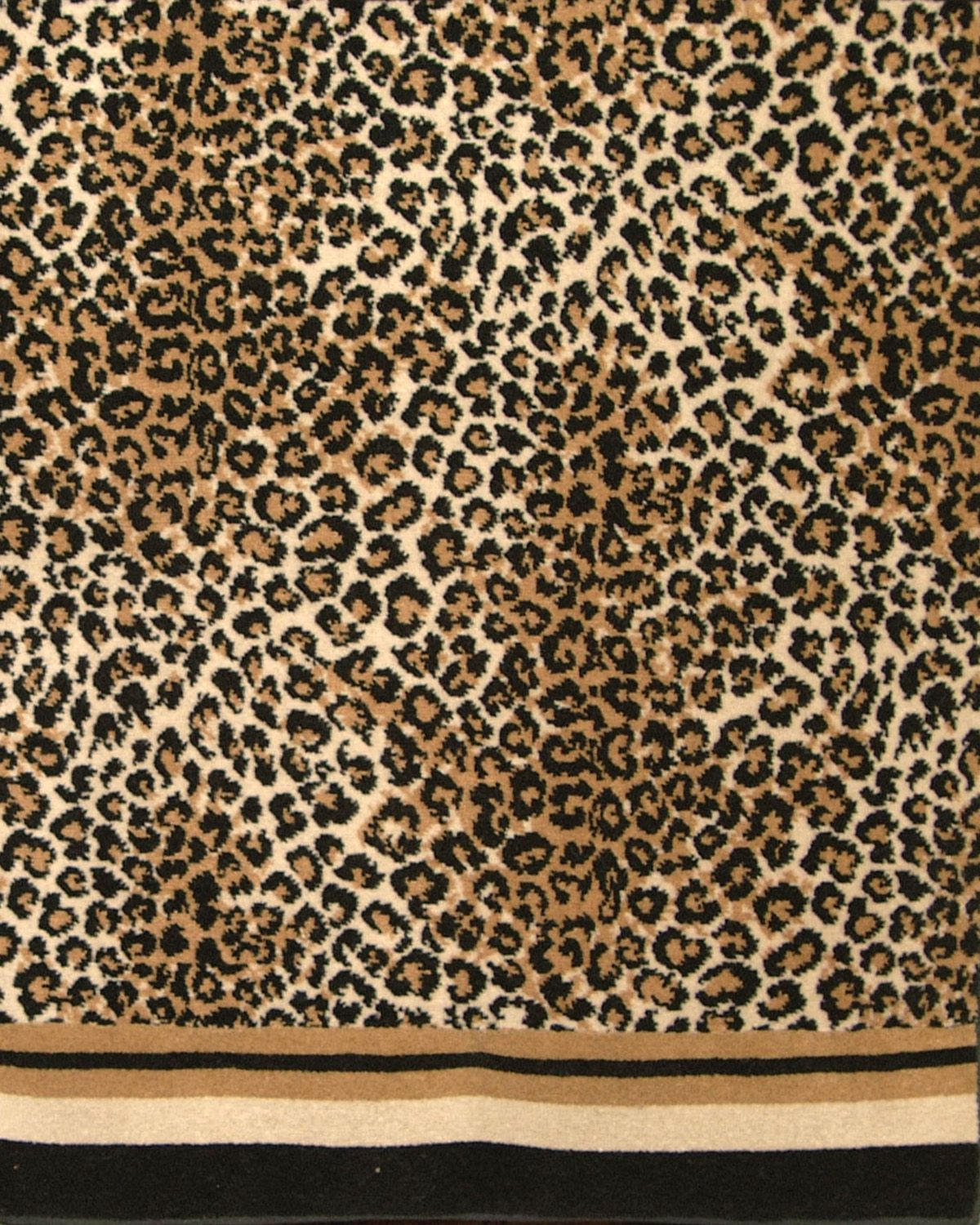 Animal Print Rug Runners For Stairs: LEOPARD (CUT) - ANIMAL COLLECTION - Stark Carpet
