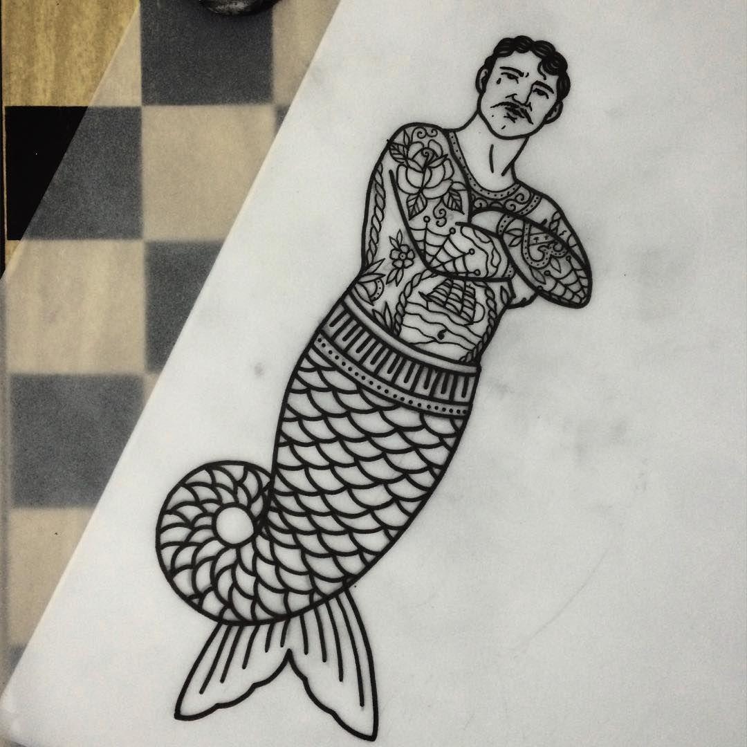 , Merman, My Tattoo Blog 2020, My Tattoo Blog 2020