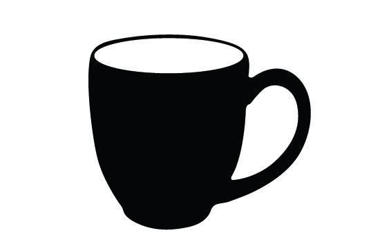 Coffee Mug Silhouette Vector Silhouette Clip Art Mugs Silhouette Vector
