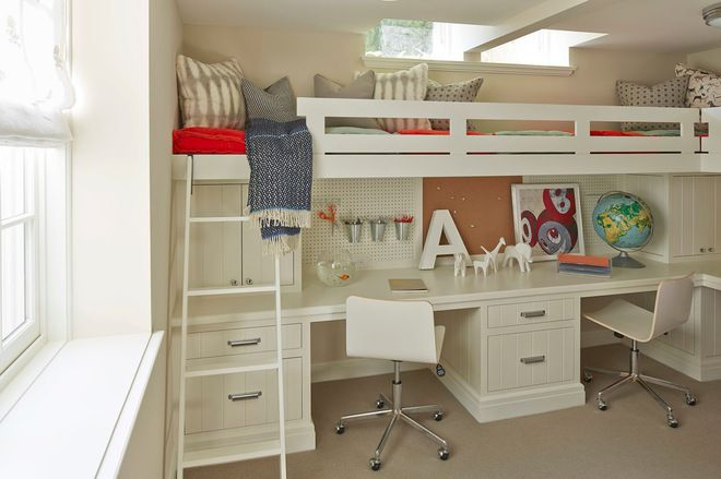 Cool Bunk Bed Loft Bunk Bed With Desk Bed With Desk Underneath Bunk Beds Built In