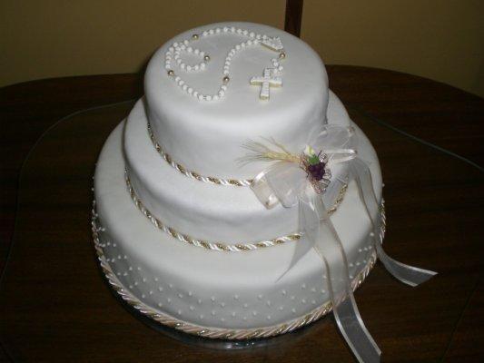 Imagenes tortas de primera comunión niñas - Imagui