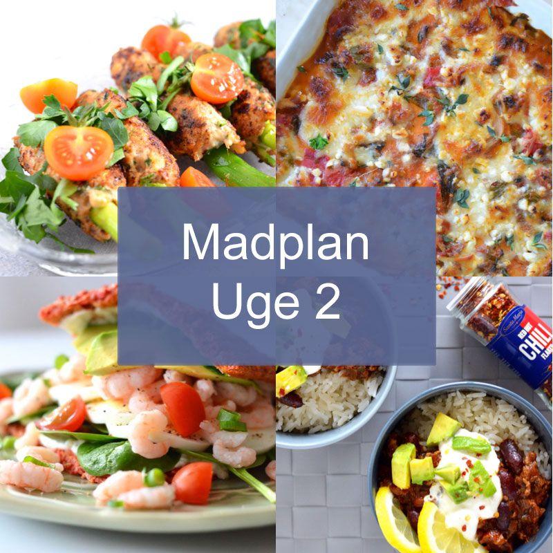 Madplan Uge 2 I 2020 Madplan Sund Mad Aftensmad