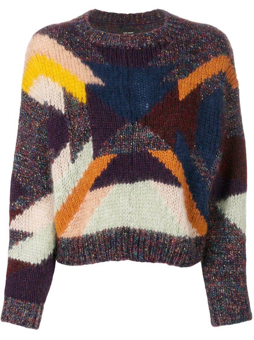 1bf9c87a09 ISABEL MARANT Cadelia Intarsia Jumper.  isabelmarant  cloth  sweater ...