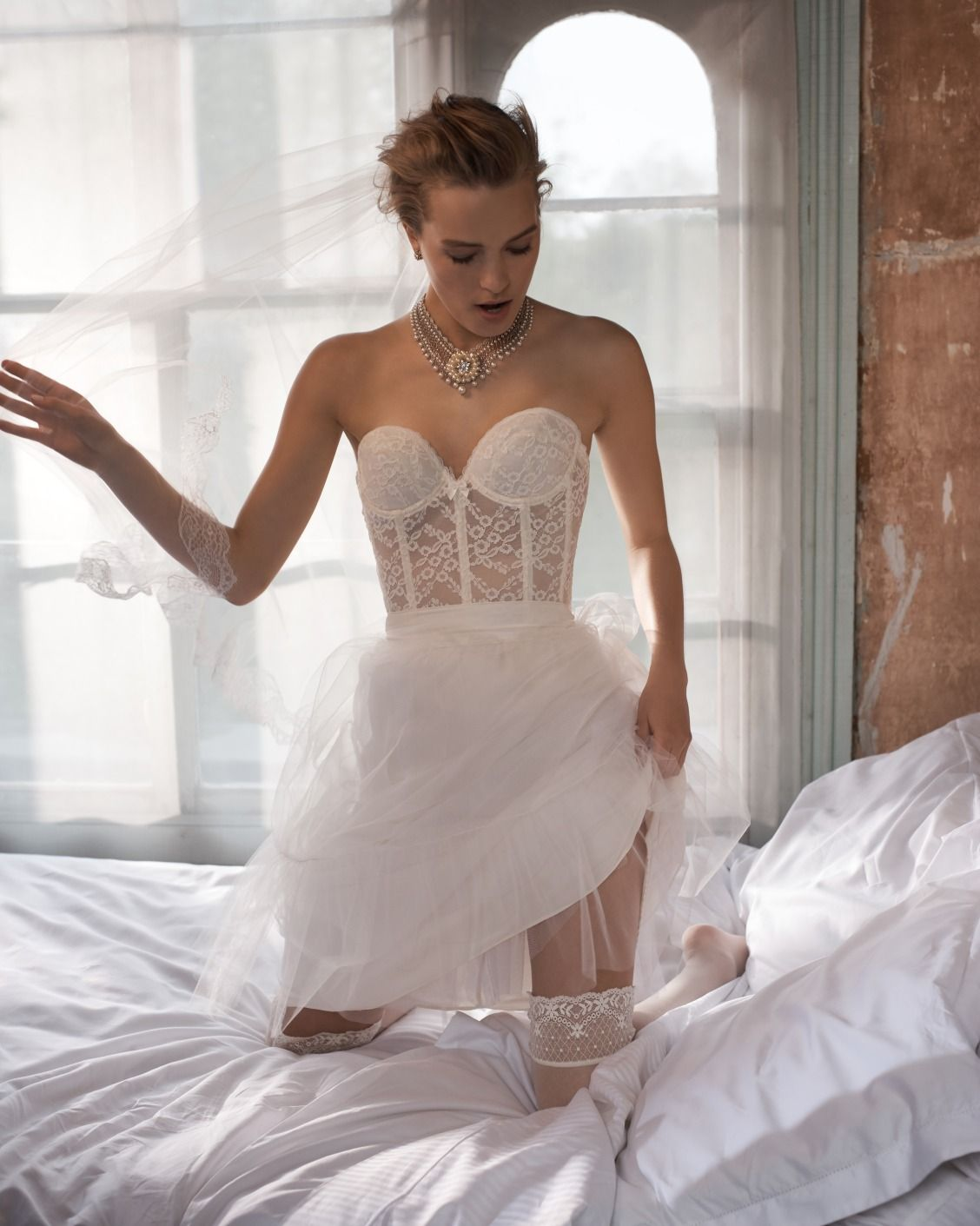 weekend in white | Filippa Lace Corset | Bridal Boudoir & Lingerie