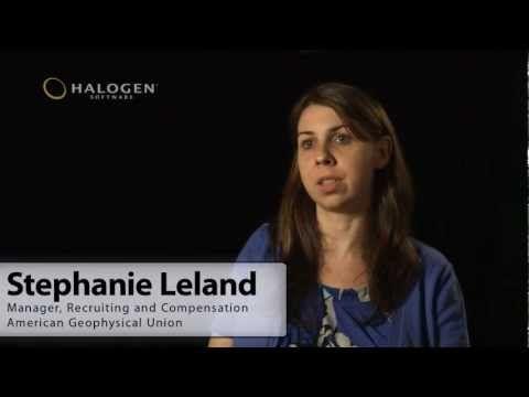 Stephanie Leland explains how the American Geophysical Union (AGU - management job description