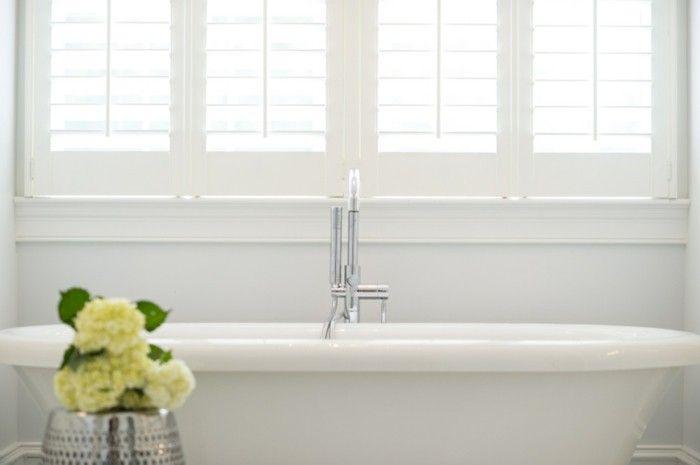 Pareti bagno pittura bianca vasca bagno freestandind deisgn