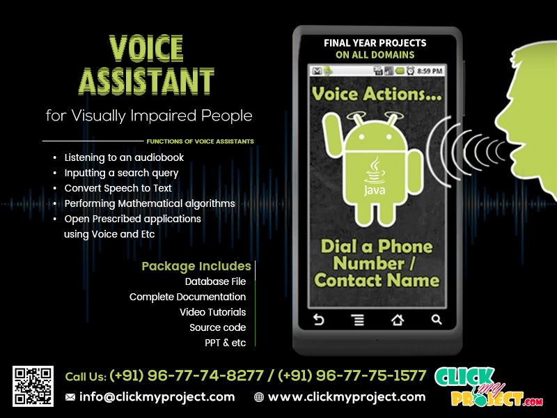 Purchase Your Final Year Project On Voice Assistent Android Based
