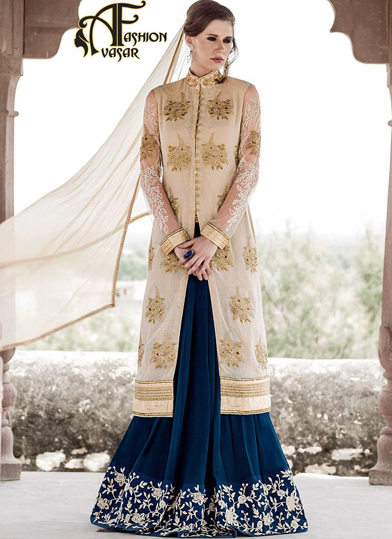 achkan style ladies suits online.Fashion and trend would be at the ...