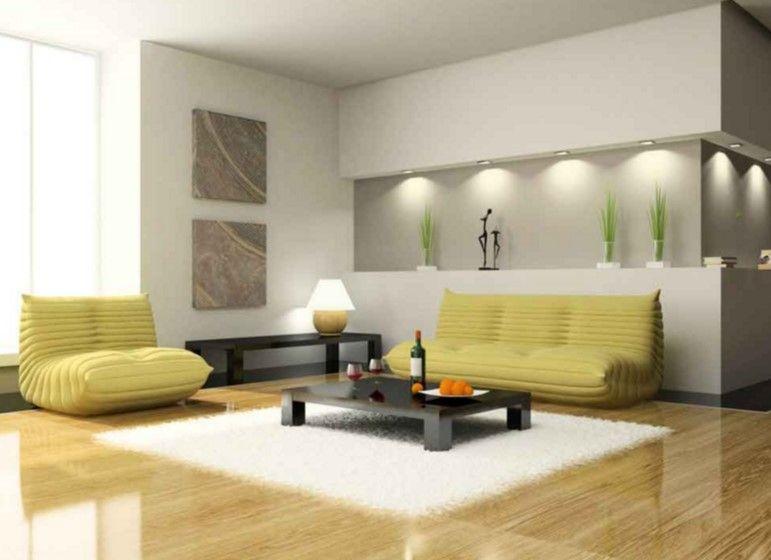 wohnzimmer wandnische design,bunte wandeinheit modellen, Hause deko