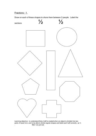 Fractions Worksheets | Worksheets, Youngest child and Math
