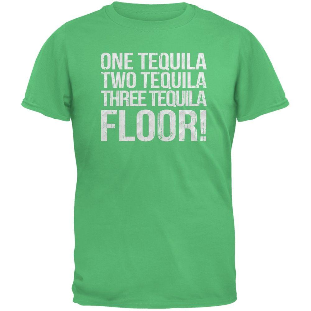 More Tequila Black Adult T-Shirt Cinco de Mayo