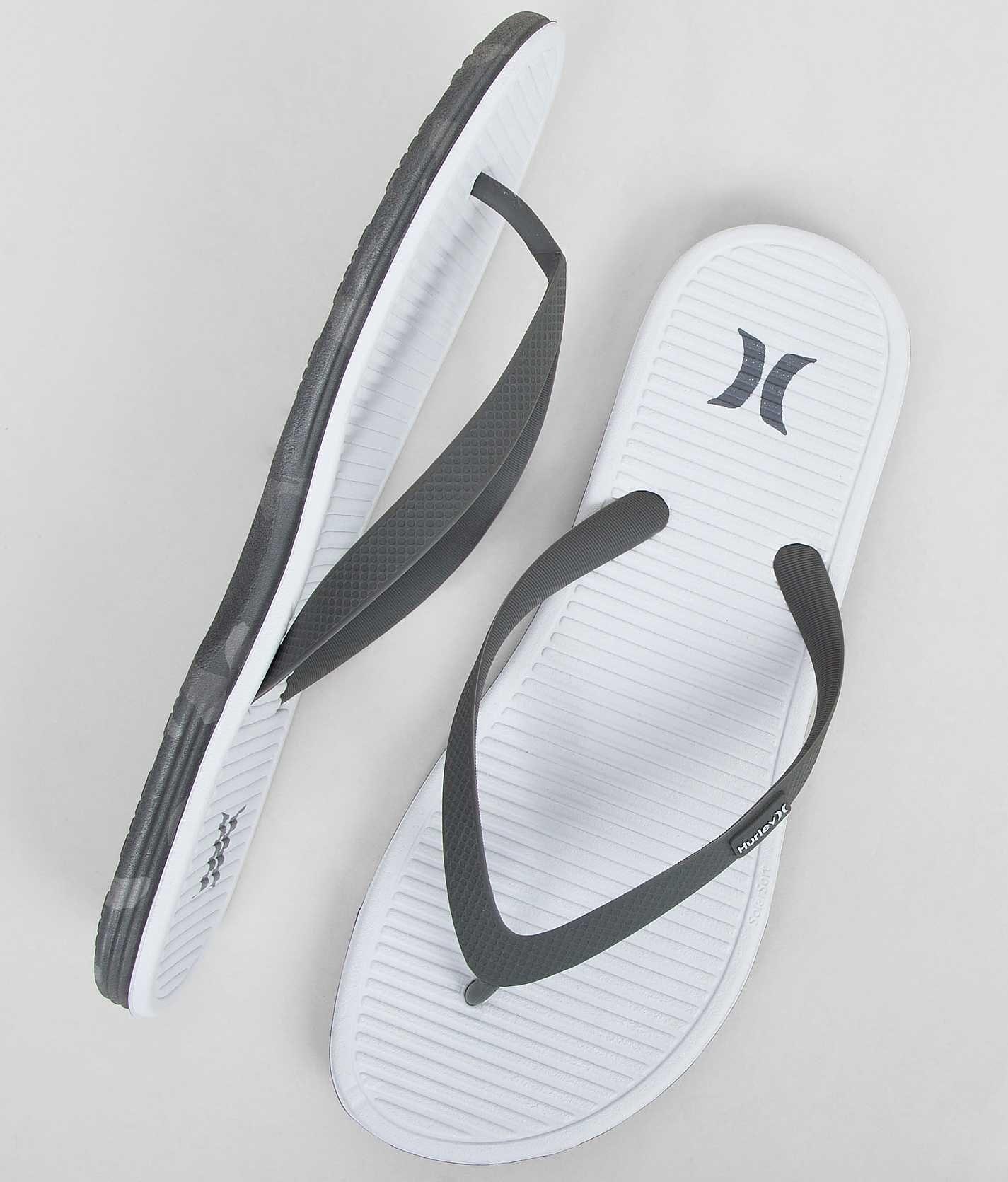 premium selection 46f05 b9317 Hurley Solar Soft Flip - Men's Shoes | Buckle | Mens shoes. | Shoes ...
