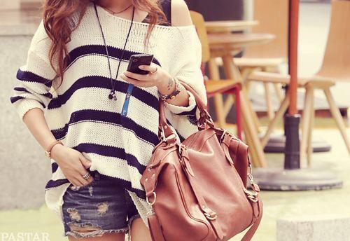 Brown bag.
