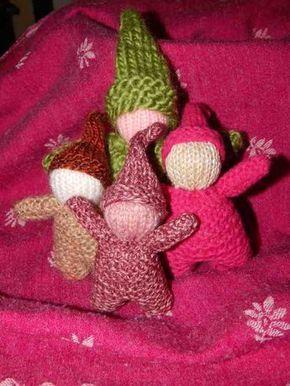 Voici le fameux patron du gnome tricoté, très célèbre dans la pédagogie Waldorf-Steiner. Enfin traduit en français, pour vous !