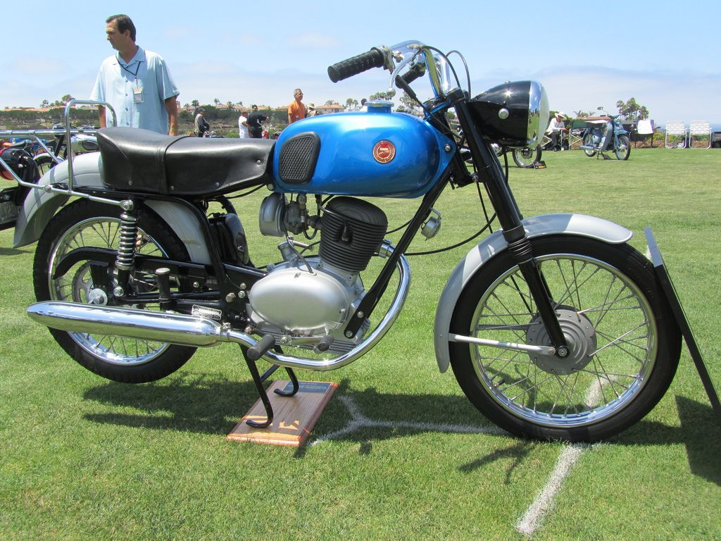 Sears Galera Motorcycle 106ss 1965 With Images Classic