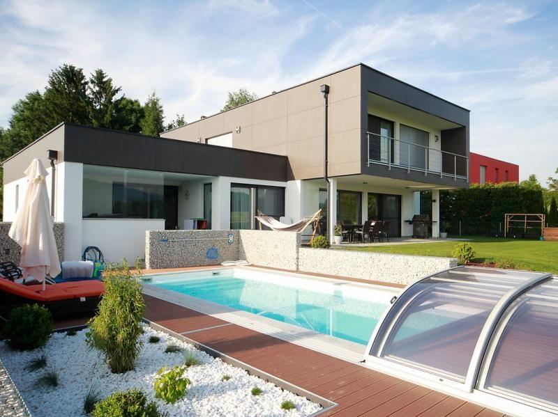 Flachdach Etzi Haus Das Ziegel Massiv Haus Modern Homes