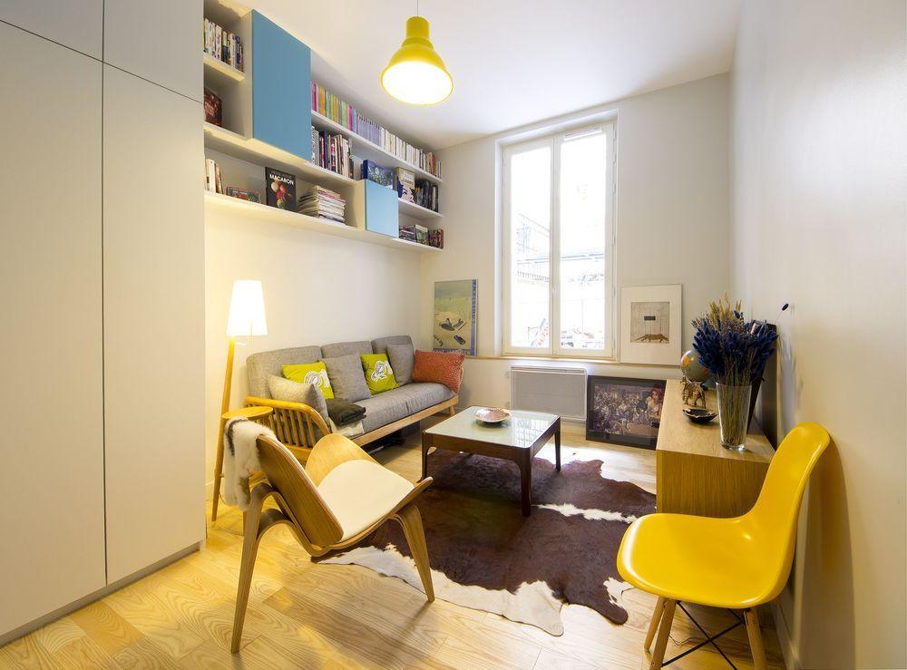 Appartement paris 10 un 36 m2 r nov par un architecte - Architecte interieur paris petite surface ...
