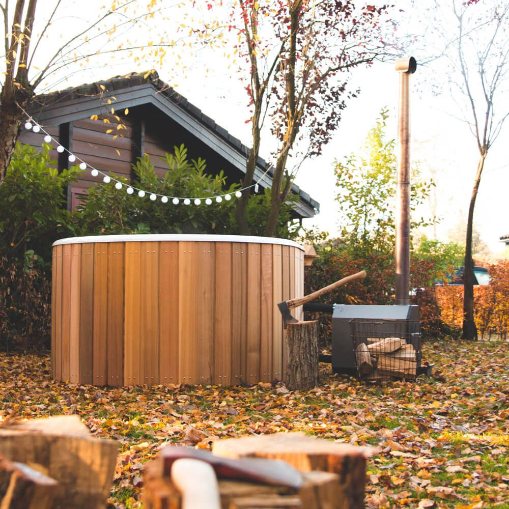 Hottub In De Tuin Nørtub Oval Hot Tub Welvaere Nørtub Hottub Wellness