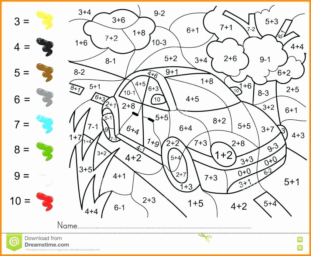 Coloring Math Activities For Middle School