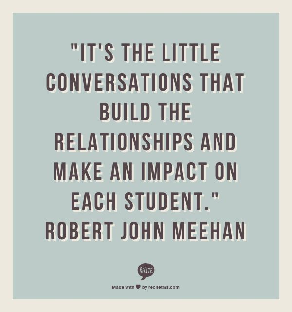 how to improve relationship between teacher and student