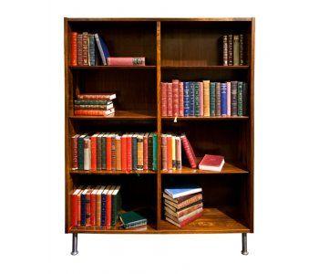 Rio Rosewood Open Bookcase by Pool Hundewan Denmark