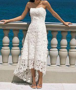 Beach Wedding Renewal Dresses