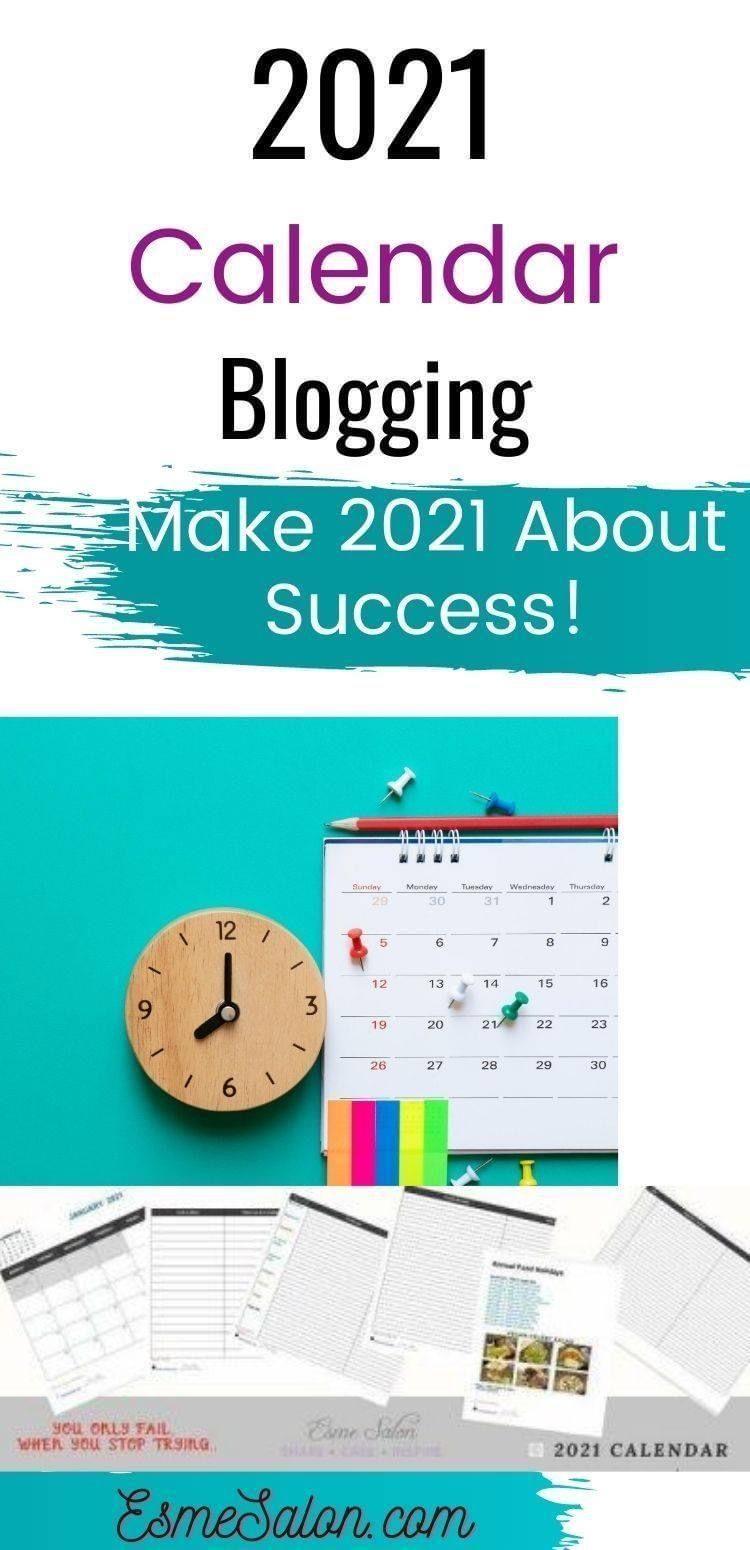 Make 2021 About Success! in 2020 Blog calendar, Blog