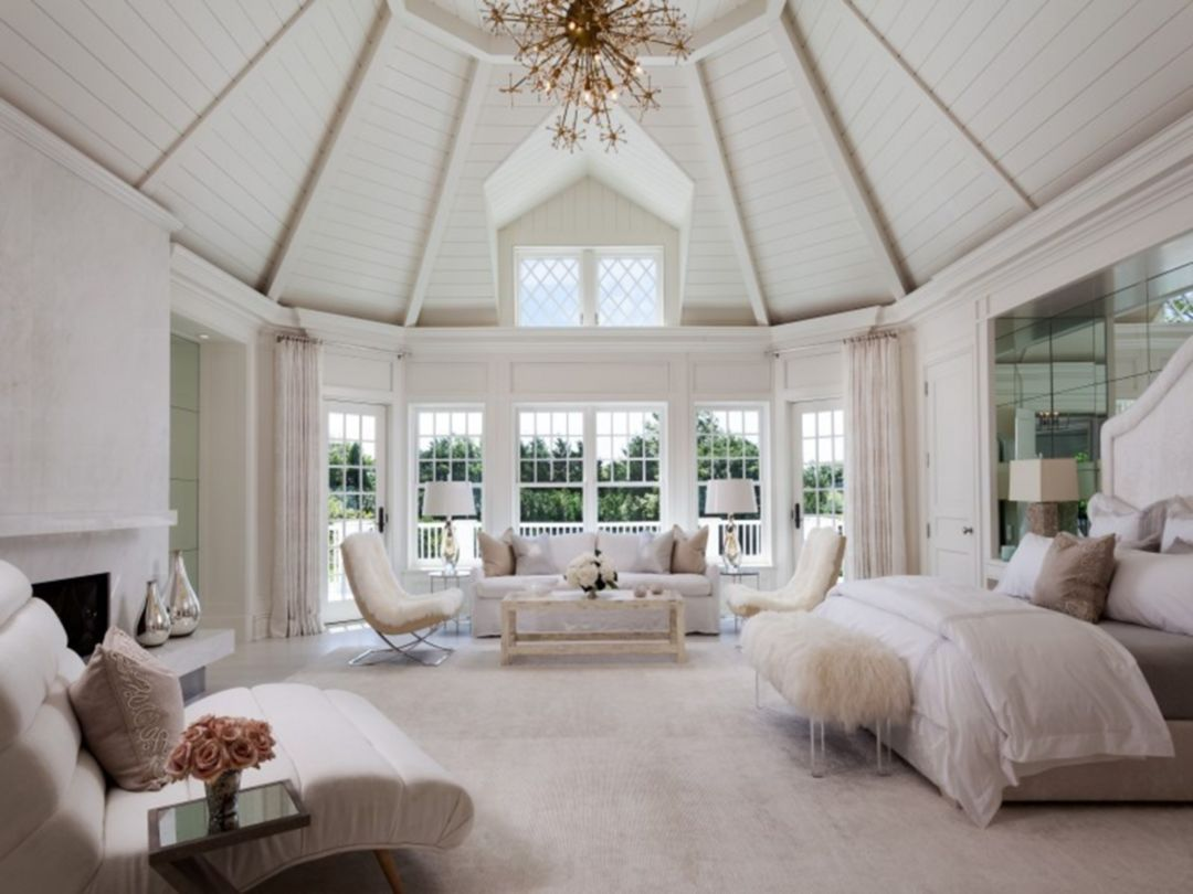 30 Gorgeous All White Master Bedroom Ideas For Inspirations