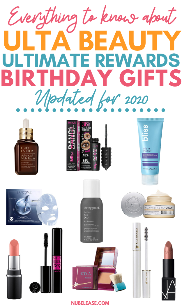 All The Info On Your Free Ulta Beauty Birthday Gift 2020