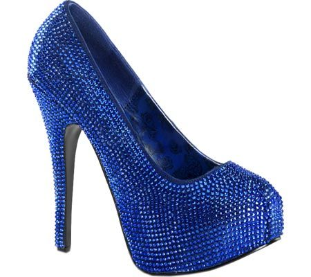 Bordello Teeze 06r Platform Pumps Heels Heels Rhinestone Shoes