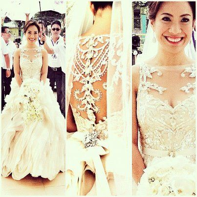 Wedding Dress Designer Of The Week Veluz Reyes Bridal Gown Most Beautiful