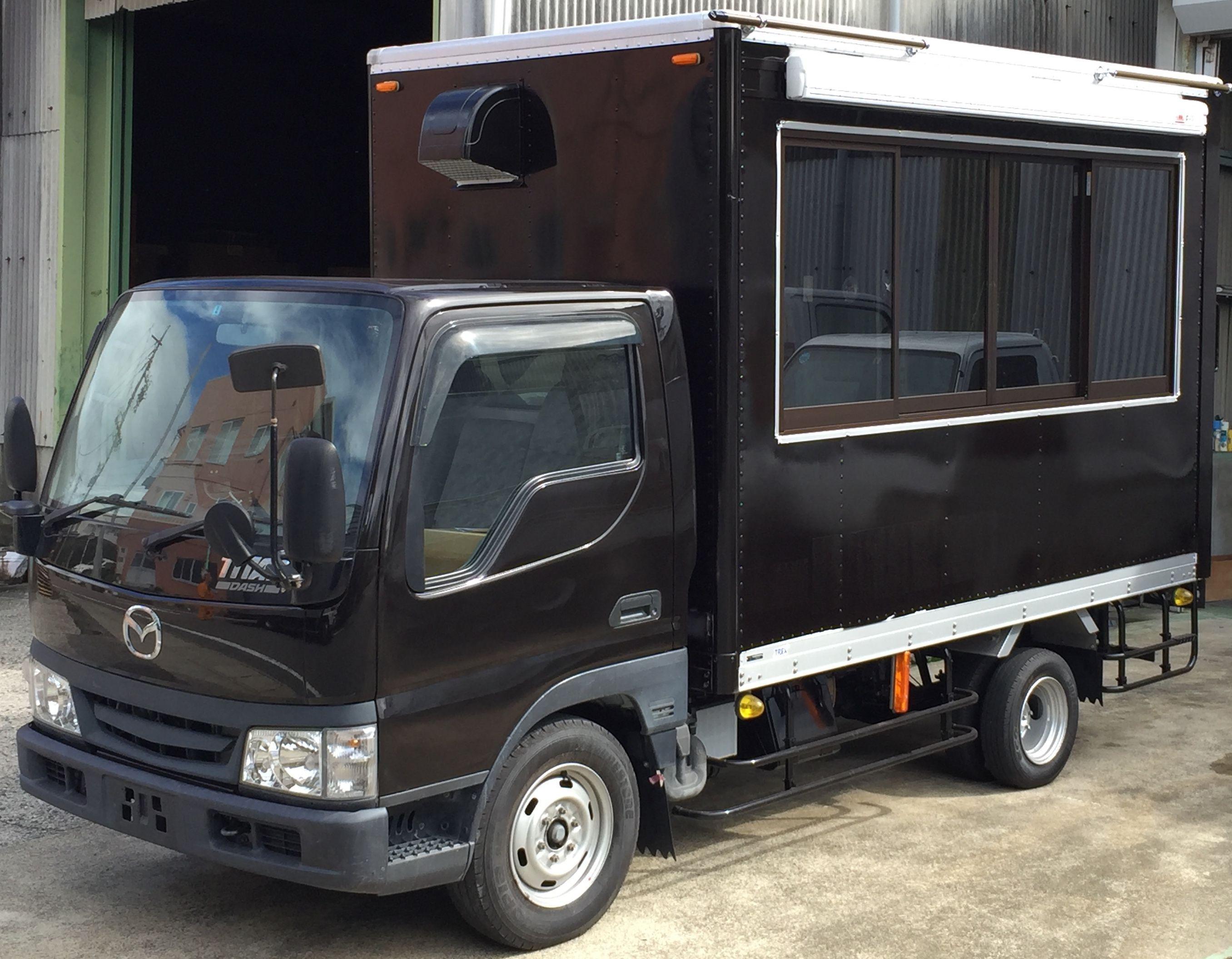 キッチントラック1500 高額売上を作ることができるキッチンカー 移動