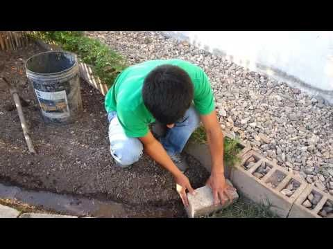 Como hacer un jardin peque o y economico youtube for Como decorar un patio con piedras