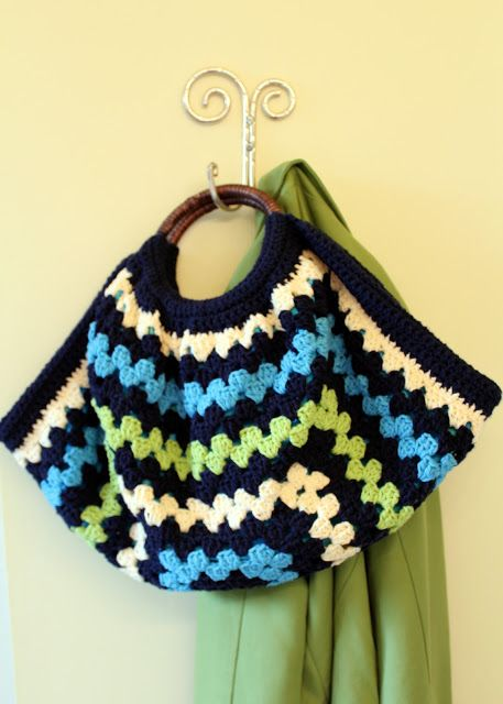 Free Crochet Purse Pattern Just Got Me Some Round Handles On Sale