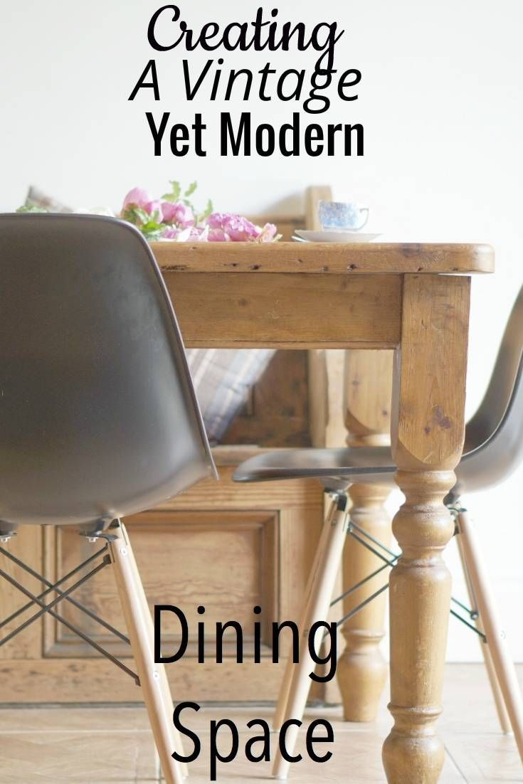 A Vintage Yet Modern Dining Space With Lakeland Furniture