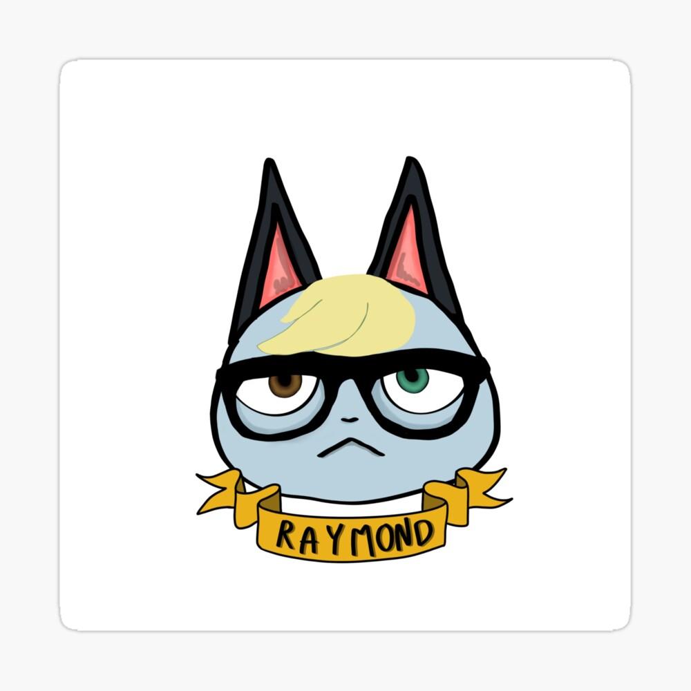 Raymond Animal Crossing Art Print By Beautylore In 2020 Art Prints Art Animal Crossing