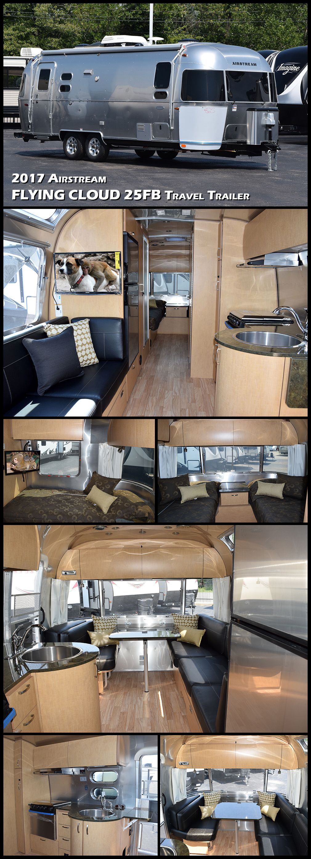 2017 Airstream Flying Cloud 25FB Twin - T19579 | RV