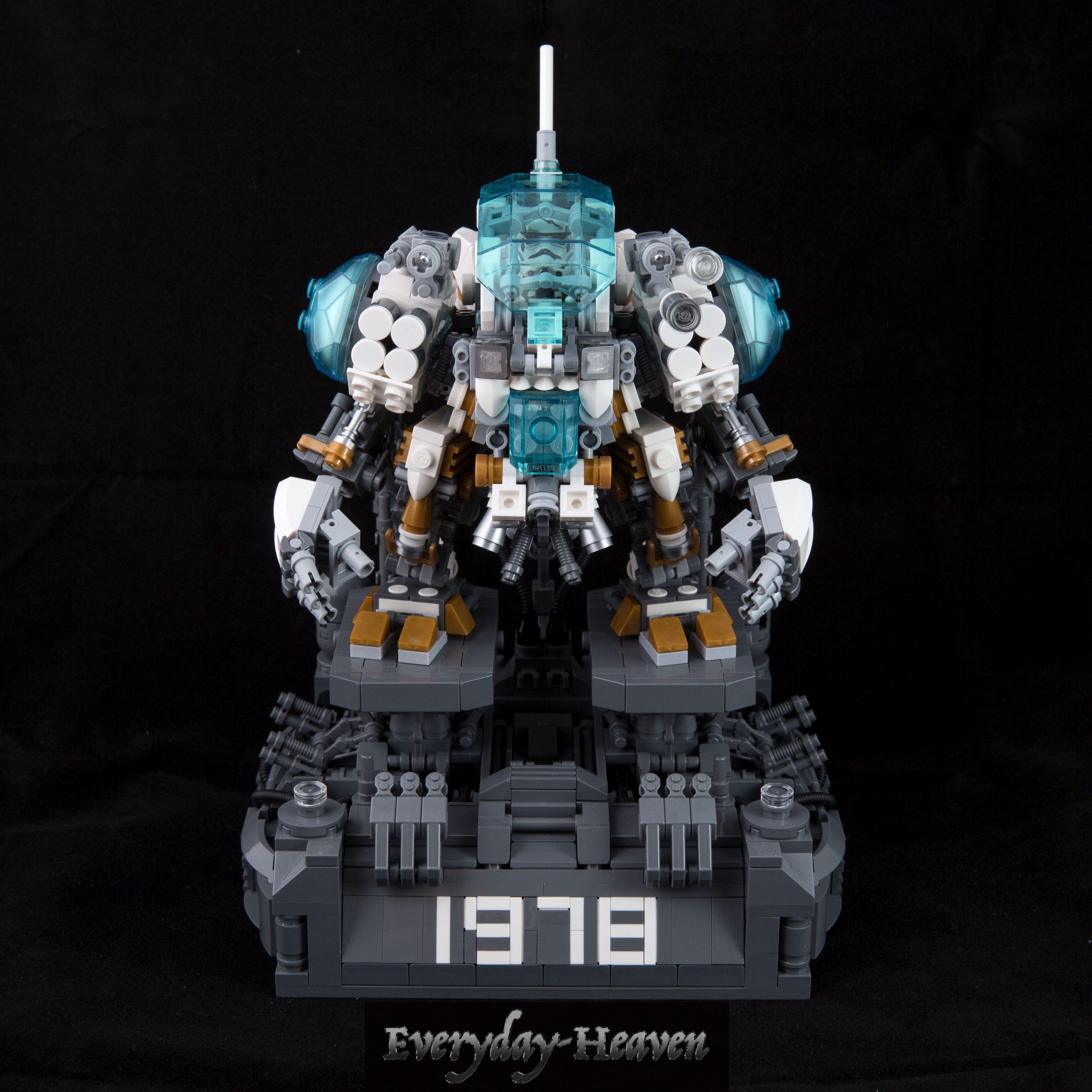 #lego #moc #mechanic #robot #mk3 #레고 #창작 #메카닉 #로봇 #버전3 #이름을 #지어야하는데 #뭐로할지 #아직도 #고민중 #이러다가 #다음버전 #만들기세 #날마다천국 #ㅋ