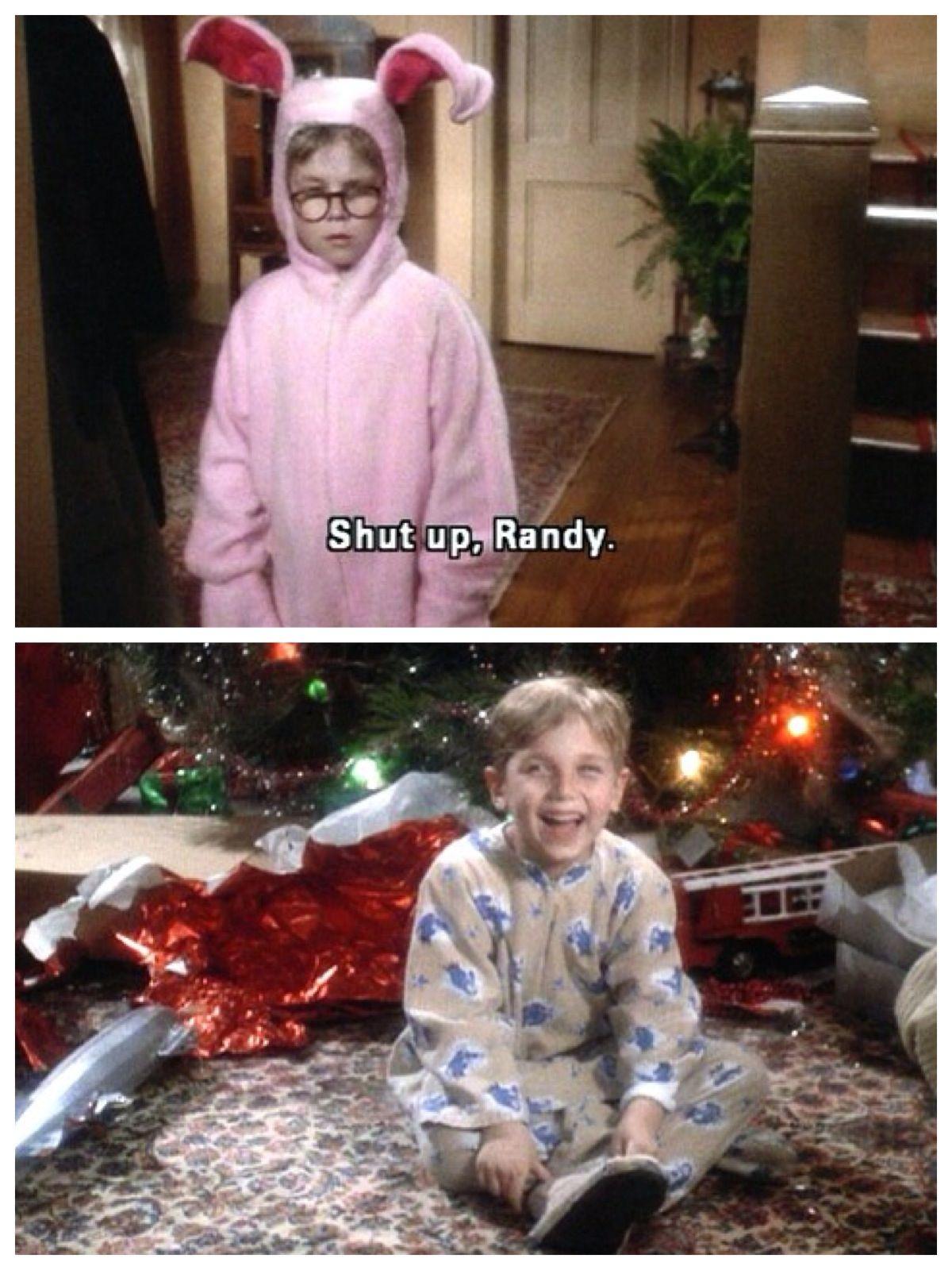 Randy Christmas Story.Brother Laughing At Ralph Shut Up Randy Christmas A
