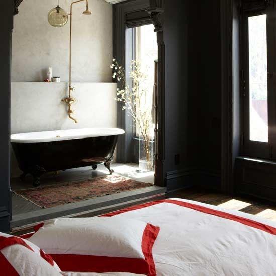 Luxuriöses offenes Schlafzimmer Wohnideen Living Ideas - wandfarben trends schlafzimmer