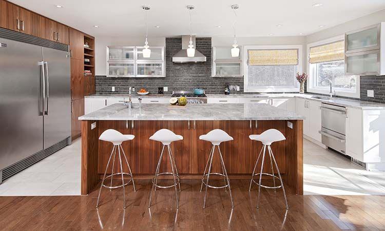 Designer Jessica Plummer Co Designer Wale Bakr with Plumm Design and Laurysen Kitchens 2013 NKBA Ottawa Design Excellence Awards   #kitchen #interiordesign #ottawa #designawards #design # modernkitchen #designer #designcontest #tiles #peopleschoice #interior