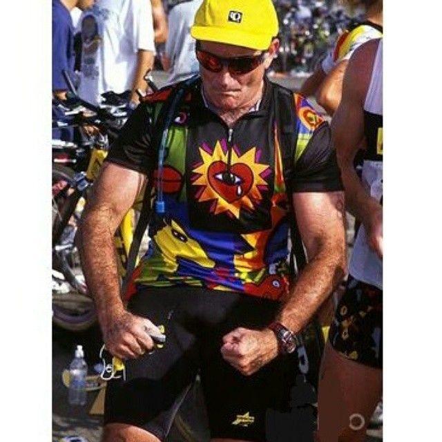 """""""#RobinWilliams #cyclist"""""""