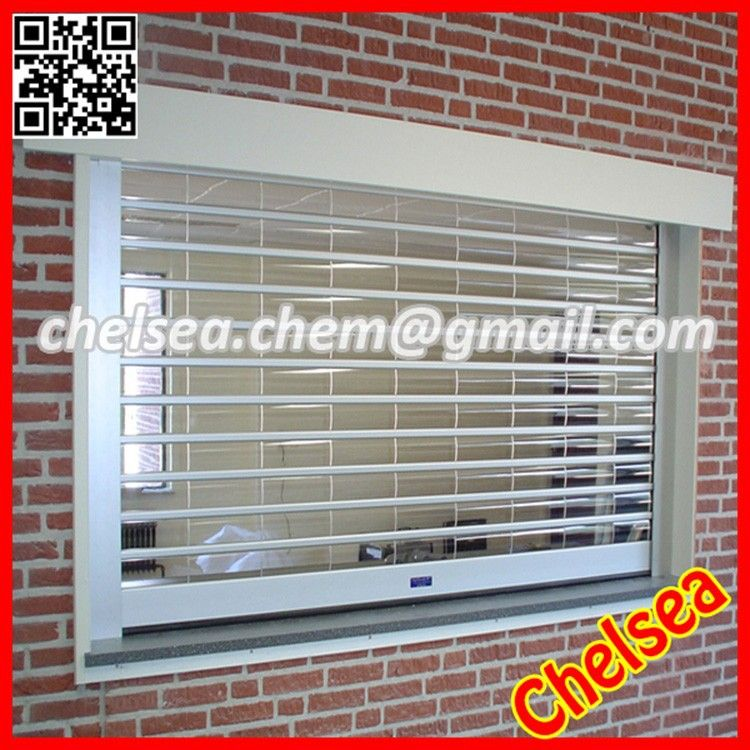 Roller Shutter Transparent Polycarbonate Clear Door X2f Transparent Gate Roulants Transparent En Polycarbon Roller Shutters Balcony Grill Design Shutter Doors